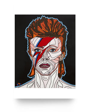 Open image in slideshow, David Bowie Glossy Poster