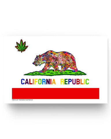 California Love Glossy Poster