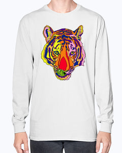 Bengal Tiger Unisex Long Sleeve Shirt