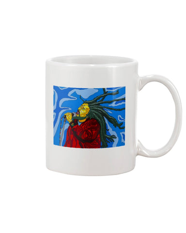 Bob Marley Large 15oz Ceramic Mug