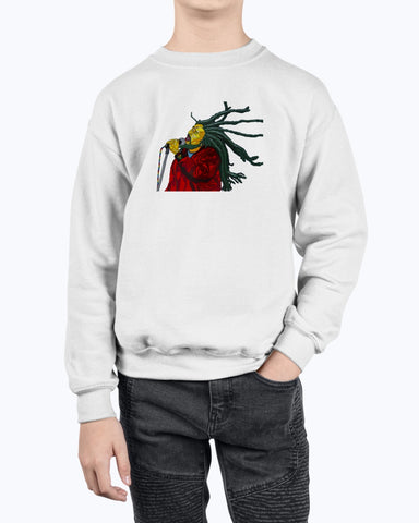 Bob Marley Youth Fleece Sweatshirt