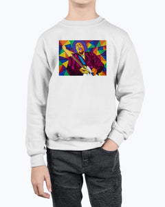 Jimi Hendrix Youth Fleece Sweatshirt