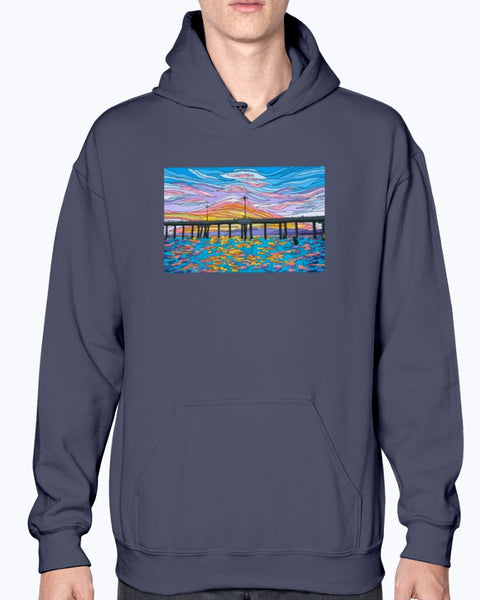 Waiting for a Set Unisex Fleece Hoodie Sweatshirt