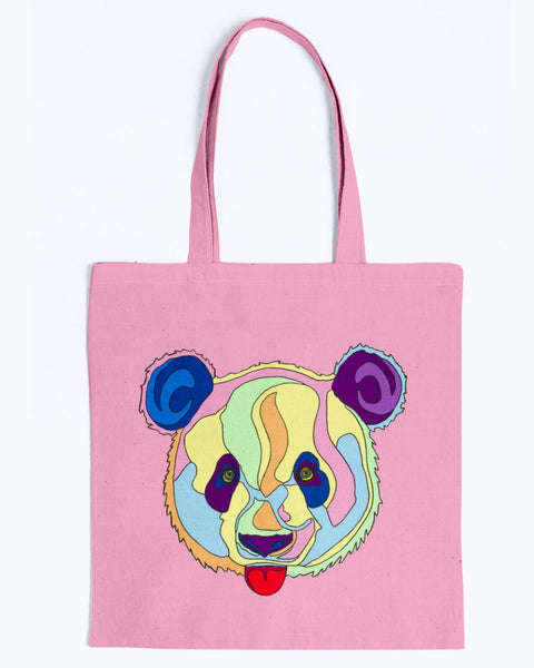 Giant Panda Canvas Tote Bag