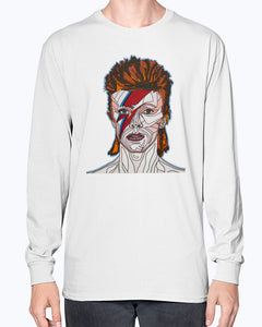 David Bowie Unisex Long Sleeve Shirt