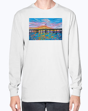 Open image in slideshow, Waiting for a Set Unisex Long Sleeve Shirt