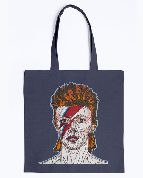 David Bowie Canvas Tote Bag