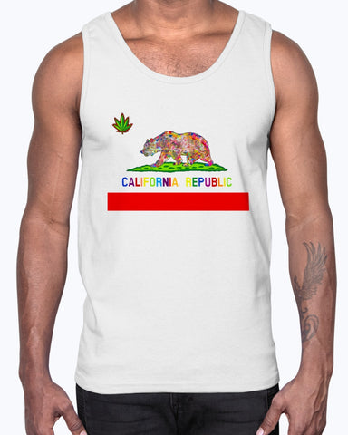 California Love Men's Tank Top