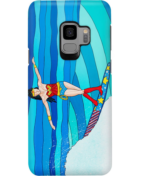 Wonder Woman iPhone and Samsung Galaxy Cases