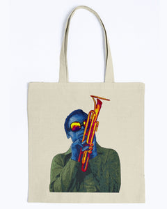 Miles Davis Canvas Tote Bag
