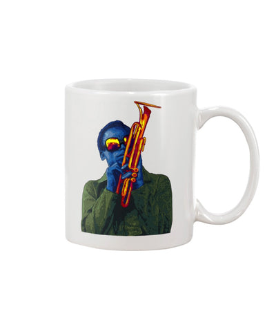 Miles Davis Large 15oz Ceramic Mug