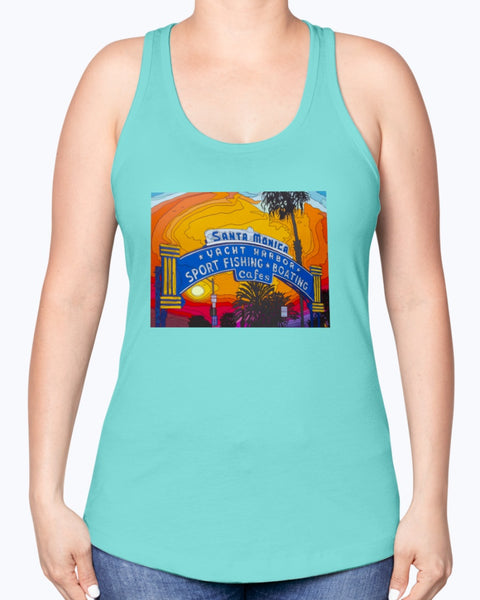 The End of the Road Women's Racerback Tank