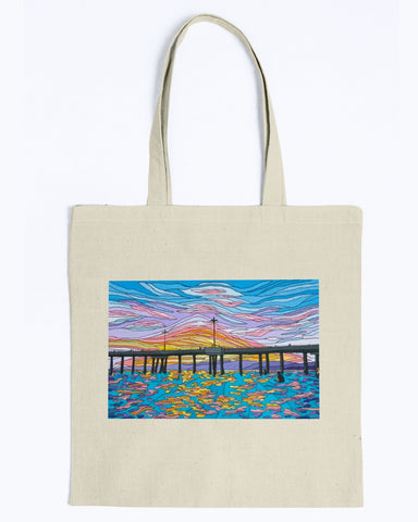 Waiting for a Set Canvas Tote Bag