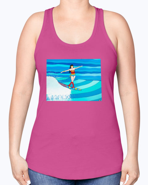 Wonder Woman Women's Racerback Tank