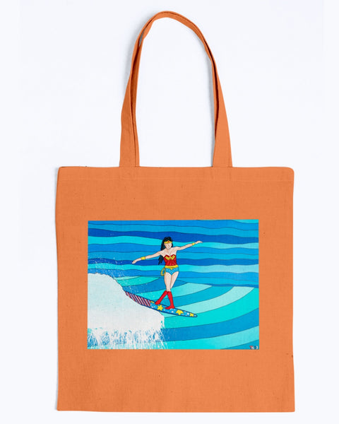 Wonder Woman Canvas Tote Bag