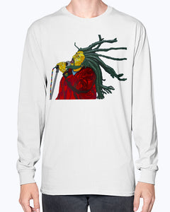Bob Marley Unisex Long Sleeve Shirt