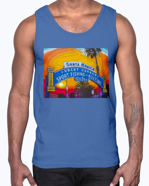 The End of the Road Men's Tank Top