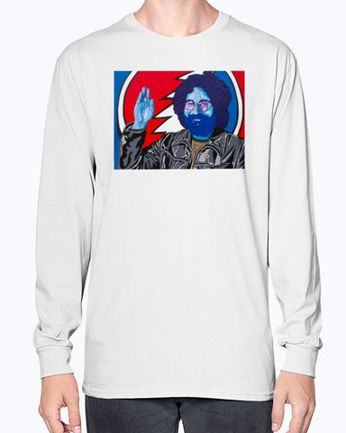 Jerry Garcia Unisex Long Sleeve Shirt