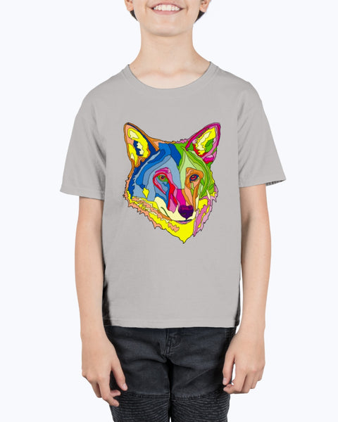 American Red Wolf Youth Tee Shirt