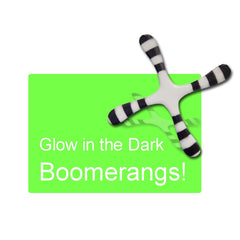 Glow in the Dark Boomerangs