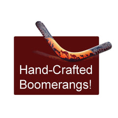 Hand Crafted Wooden Boomerangs