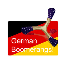 German Boomerangs
