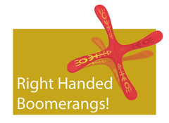 Right Handed Boomerangs