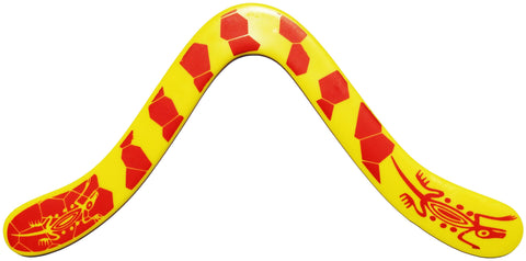 Technic Decorated ABS Boomerangs - boomerangs-com