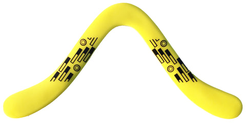 Tech Yellow Boomerangs