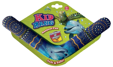 Kid Rang Boomerangs - Retail Boomerang Pack