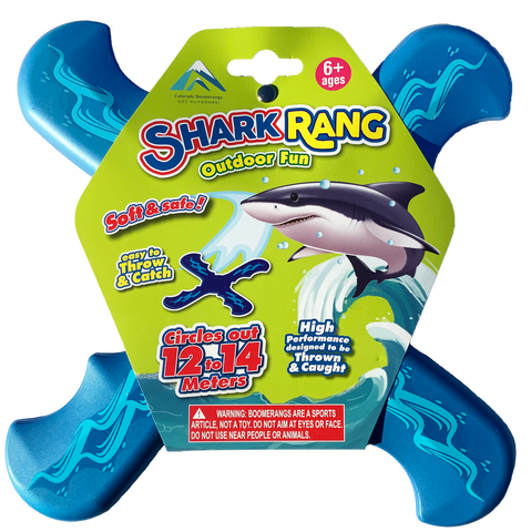 Shark Rang Boomerangs - Retail Boomerang Pack