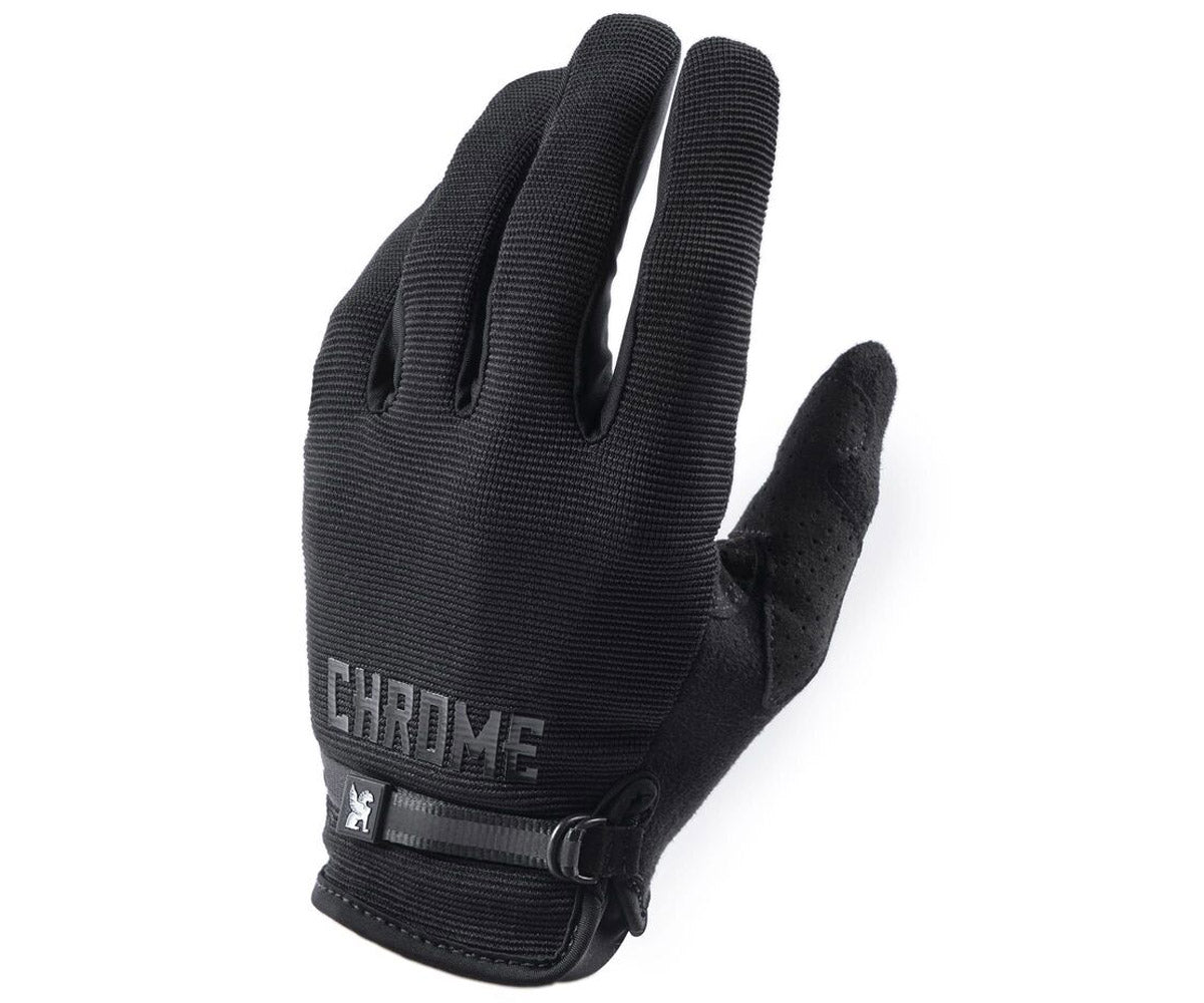 Chrome cycling gloves - Retrogression