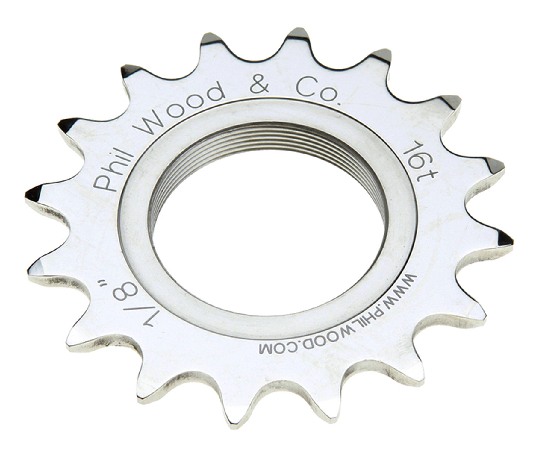 Phil Wood track cog - Retrogression