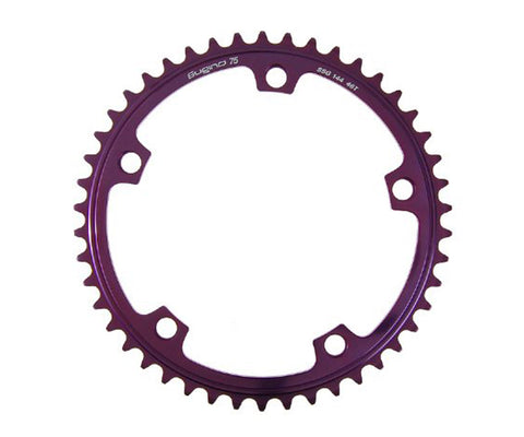 NOS Sugino 75 chainring - anodized colors