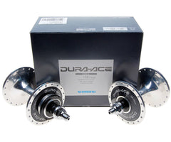 NOS Shimano Dura Ace 7600 NJS 36h hub set - 110mm rear spacing