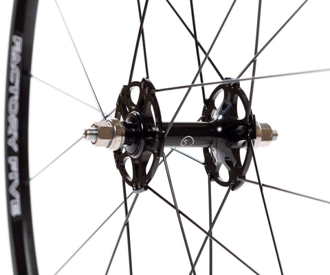 Factory Five Pista wheelset - black