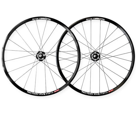 Factory Five Pista wheelset - black - Retrogression