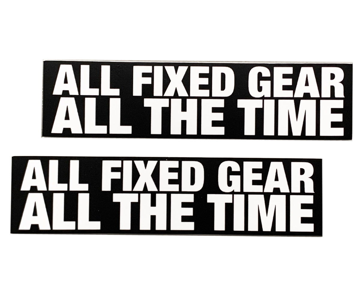 """All Fixed Gear"" stickers"
