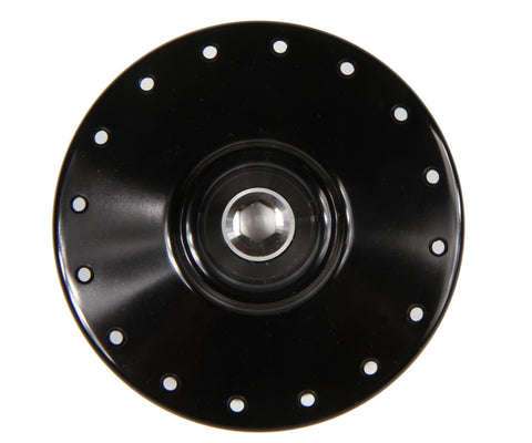 Mack Superlight high flange front hub - black WCS