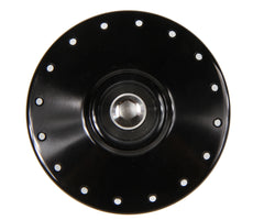 Mack Superlight high flange front hub - black - Retrogression