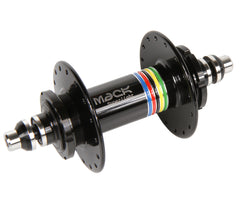 Mack Superlight high flange rear hub - black WCS - Retrogression
