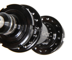 Mack Superlight low flange rear hub - black - Retrogression