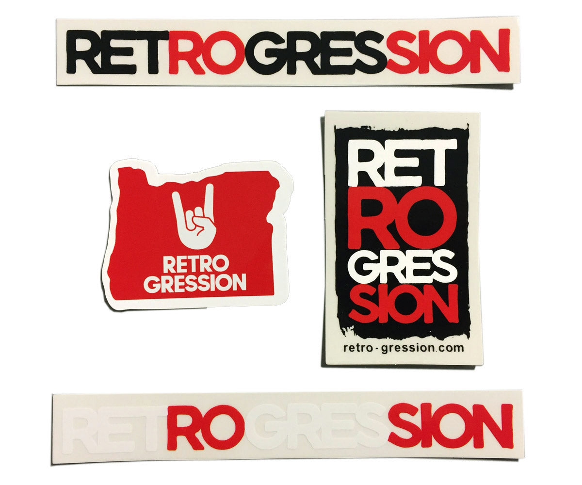 Retrogression Sticker Pack - Retrogression