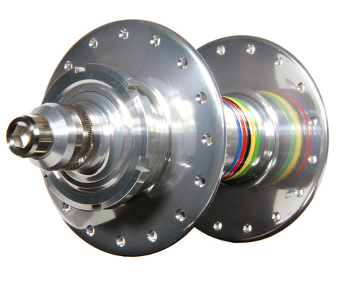 Mack Superlight high flange rear hub - silver WCS