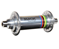 Mack Superlight low flange front hub - silver WCS