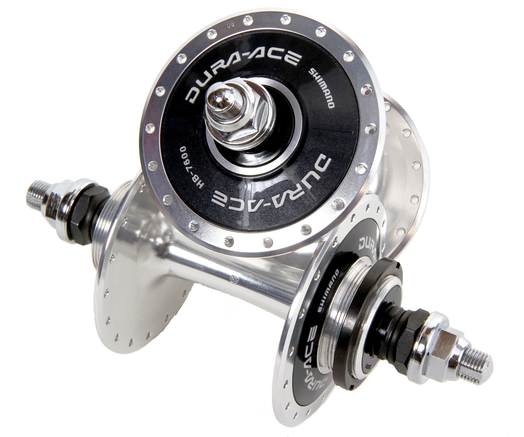 Shimano Dura Ace 7600 NJS 36h hub set - Retrogression