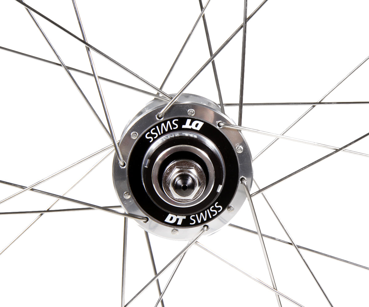 H+Son Archetype/DT Swiss Classic Track wheelset - silver - Retrogression