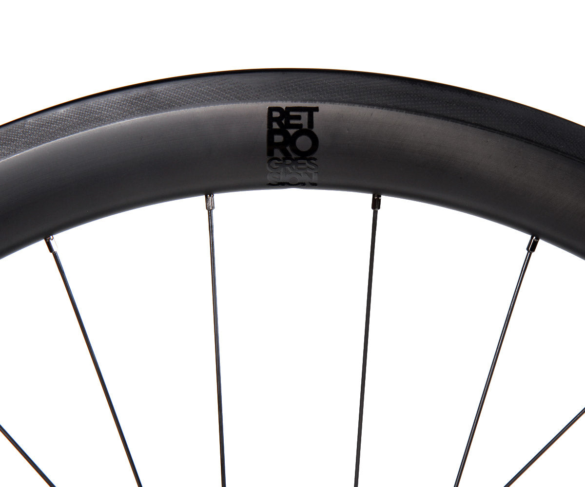 Retrogression RG50 carbon/Gran Compe SF wheelset