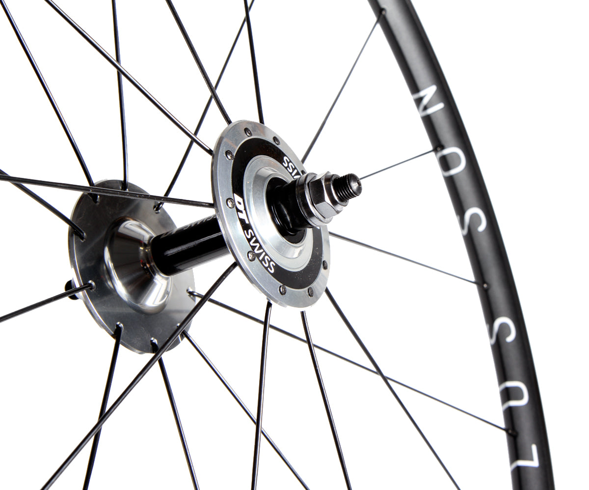 H+Son Archetype/DT Swiss Classic Track wheelset - black - Retrogression