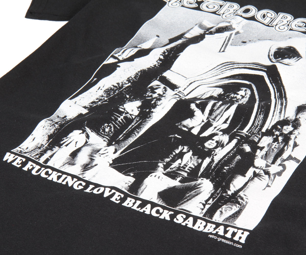 "Retrogression ""We Fucking Love Black Sabbath"" t-shirt - Retrogression"